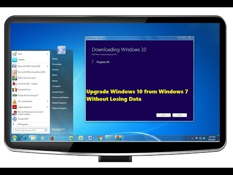 Upgrade Windows 10 From Windows 7 Without Losing Any Data (2020)