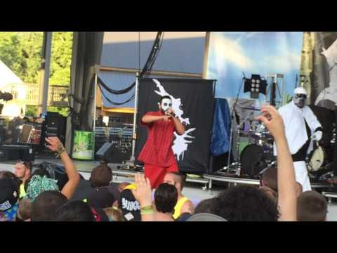 Blaze & Kung Fu Vampire - Ghost live at the Gathering Of The Juggalos 17 2016 #GOTJ17