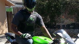 2013 Kawasaki Ninja zx6r as my first bike. (No previous experience.)