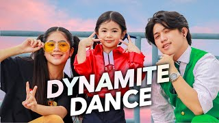 BTS - DYNAMITE Siblings Dance | Ranz and Niana ft natalia
