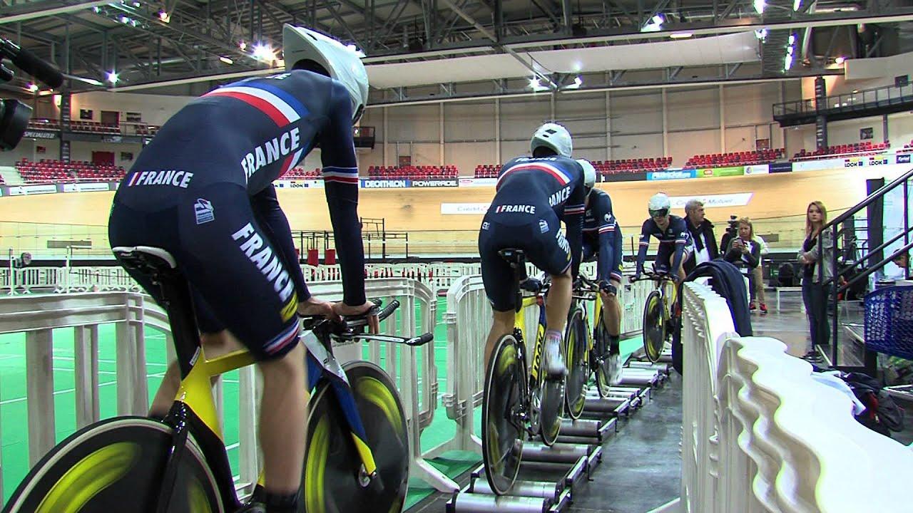 Cyclisme : l'équipe de France se prépare pour les mondiaux