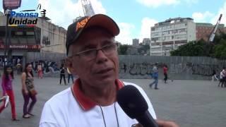 Ciudadanos rechazan militarización de Caracas para evitar protestas