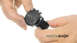 emporio armani men s chronograph watch ar1737