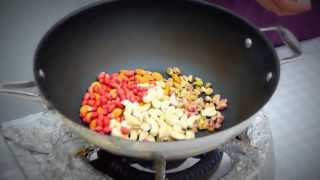 Chikki - Indian Style Peanut Brittle Recipe Tutorial