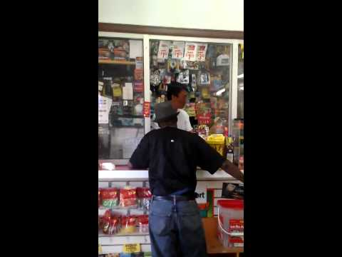 Asian Store Owner  Punks Black Dude In Store (Houston Texas)