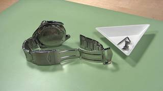 How to Change a Metal Watch Band with End Pieces