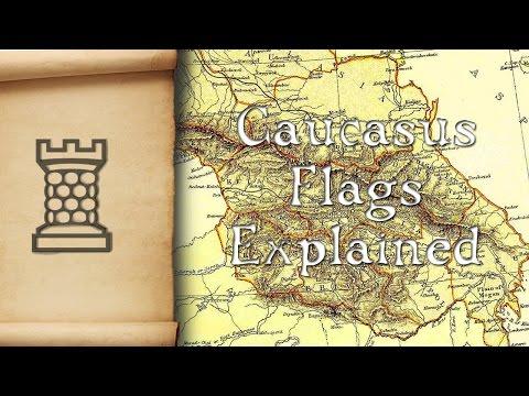 Caucasus Flags Explained