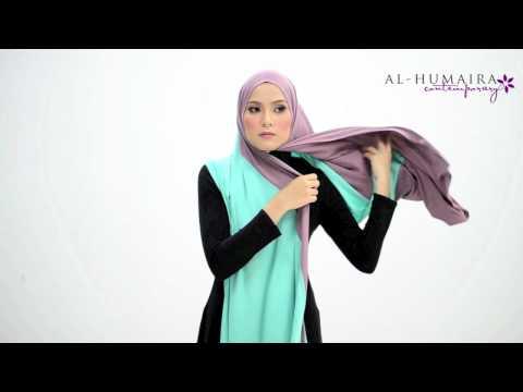 MACY shawl styling tutorial by Al-Humaira Contemporary