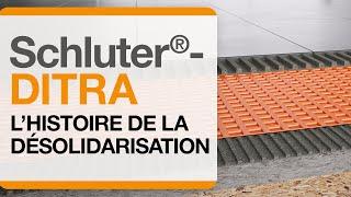L'histoire de la membrane de désolidarisation Schluter®-DITRA de Schluter®-Systems