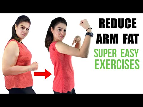 बाजुओं का फैट घटाएं 7 दिन में -Lose ARM FAT in 1 Week & GET SLIM ARMS | Easy ARMS WORKOUT EXERCISES
