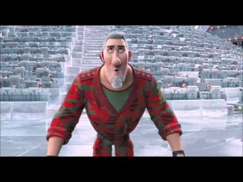 Arthur Christmas Characters.Arthur Christmas Waker Scene Movie Clip Official 2011 Hd