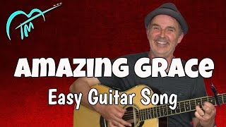 Amazing Grace Guitar Chords - Easy Guitar Lesson