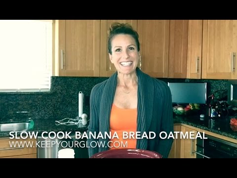 Banana Bread Slow Cook Oatmeal