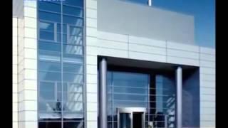 видео Система композитного фасада
