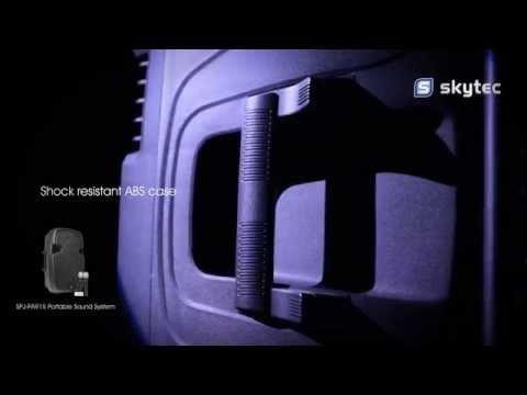 SKYTEC SPJ-PA915 Portable Sound System ABS 15
