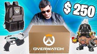 ABRINDO UMA CAIXA MISTERIOSA DE $ 250 DO OVERWATCH !! ( Área Secreta )