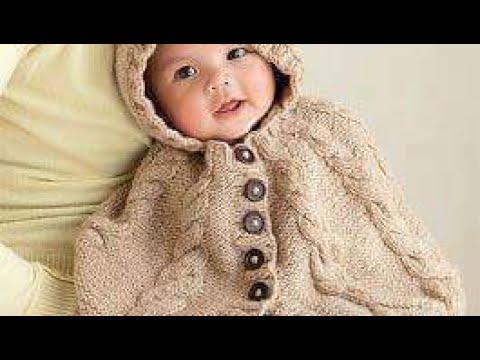 Poncho De Bebe Tejido En Crochet O Ganchillo Youtube