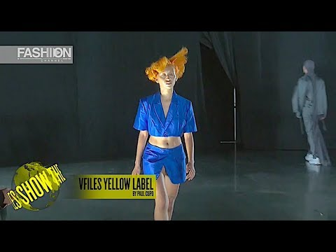 VFILES YELLOW LABEL The VFiles Show Spring Summer 2019 New York - Fashion Channel