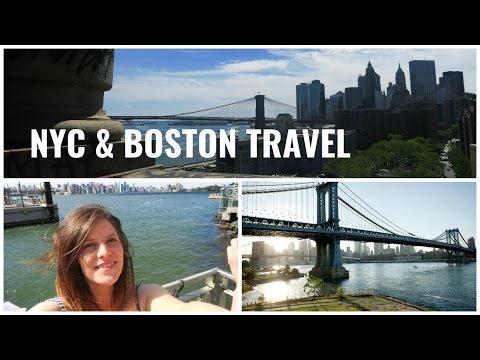 HOW TO TRAVEL NYC & BOSTON - MONTAGE