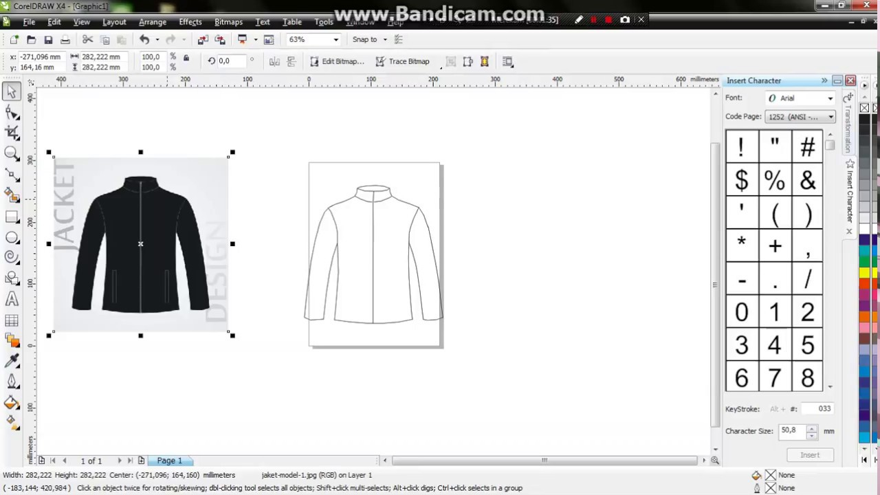 660 Desain Jaket Dengan Corel Draw X4 HD Terbaik