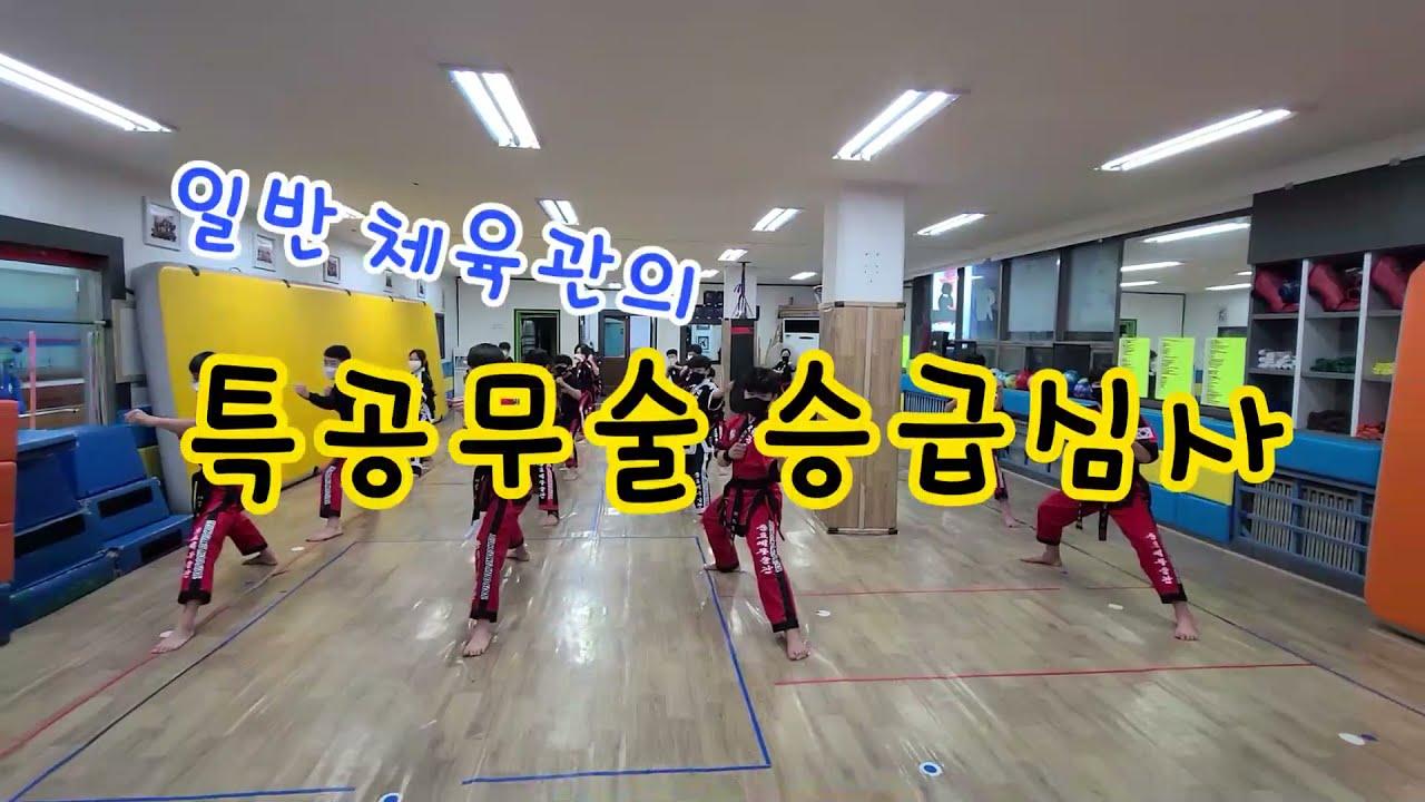 코로나에도 감사합니다^^ 특공무술 승급심사!! Martial Arts Test at Korea Martial Arts Gymnasium
