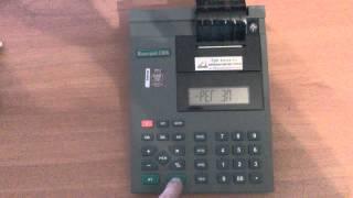 видео ККМ Меркурий 130, Чекопечатающая машина Меркурий-130, Контрольно-кассовая машина Меркурий 130