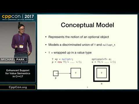 "CppCon 2017: Michael Park ""Enhanced Support for Value Semantics in C++17"""