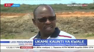 Hali ya ukame kaunti ya Kwale: Ujenzi wa bwawa waanza Lungalunga