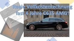 Utopische Unkosten oder noch darstellbar: fast 4 Jahre aktuellen AMG V8 fahren - der Selbstversuch!