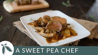 Easy Roasted Pork Tenderloin | A Sweet Pea Chef