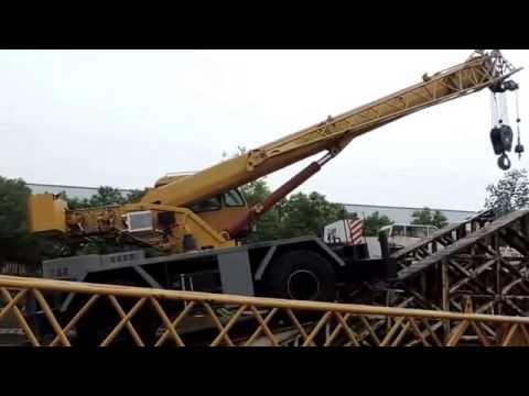 Кран 30 тонн, ходовые возможности