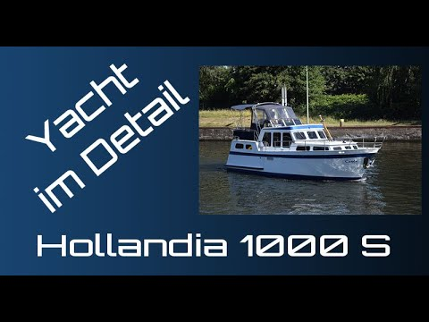 Keser Hollandia 1000 S Yacht Im Detail (walkthrough) Boat Presentation