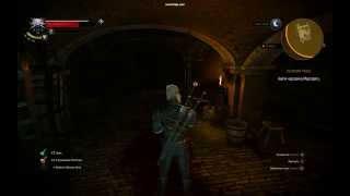 """Witcher 3, задание""""Великий побег"""" как запрыгнуть на уступ."""