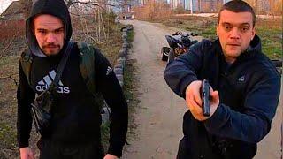 Видео драка Осокорки Стрельба квадроцикл Киев быдло тупые мусора нападают на людей Аваков Троицкий