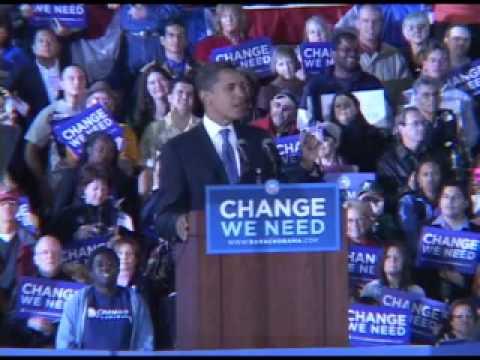 Barack Obama visits UNM