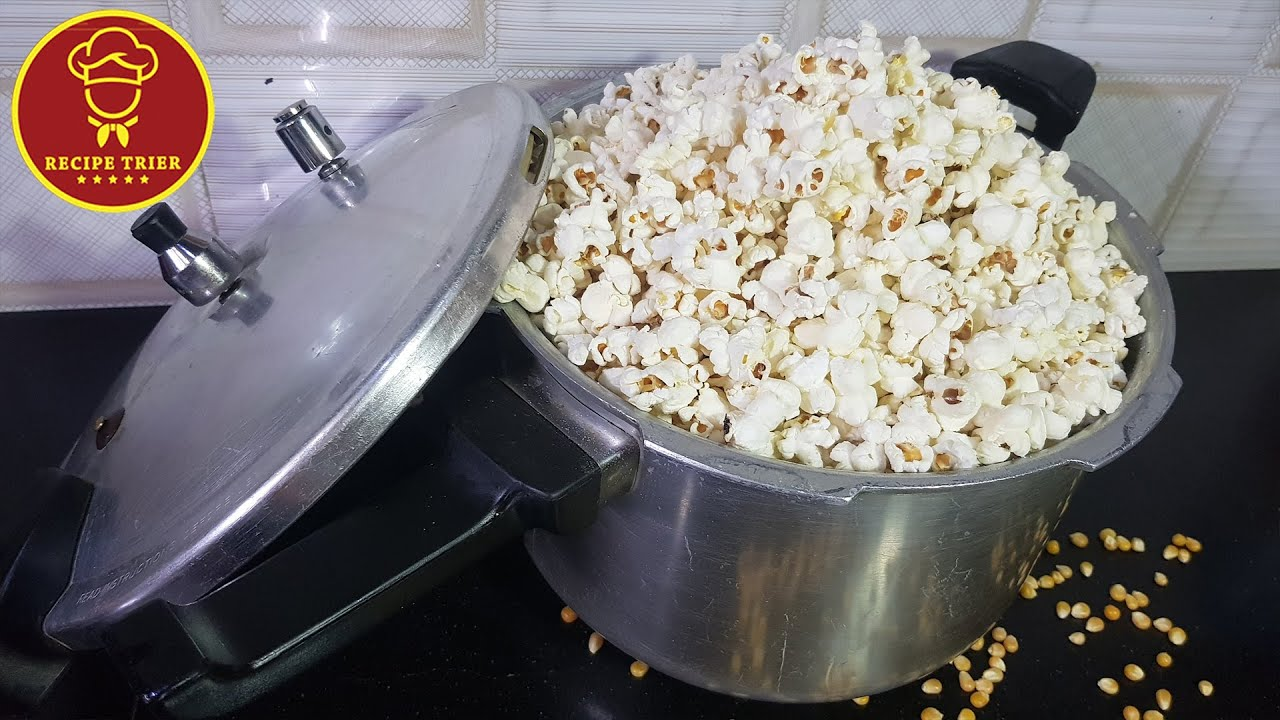 Popcorn in Pressure Cooker within 5 minutes