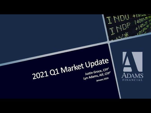 Q1 Quarterly Update