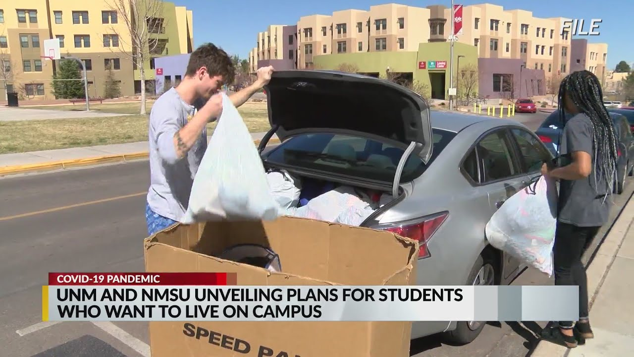 Unm Nmsu Announce Plans For On Campus Housing This Fall Youtube