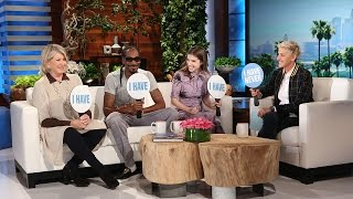 Never Have I Ever with Martha Stewart, Snoop Dogg and Anna Kendrick by : TheEllenShow