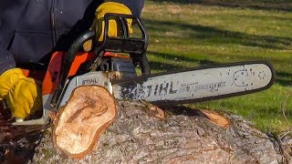 FASTEST CHAINSAW in the EAST! - Simple Trick - ANYONE CAN DO IT!