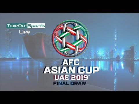 REVEALED ! AFC Asian Cup 2019 Final Draw - Groups Revealed !