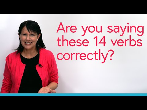 Pronunciation: Fix 14 Common Mistakes with Business English Verbs