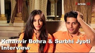 Qubool Hai | Surbhi Jyoti and  Karanvir Bohra Interview | Part 1