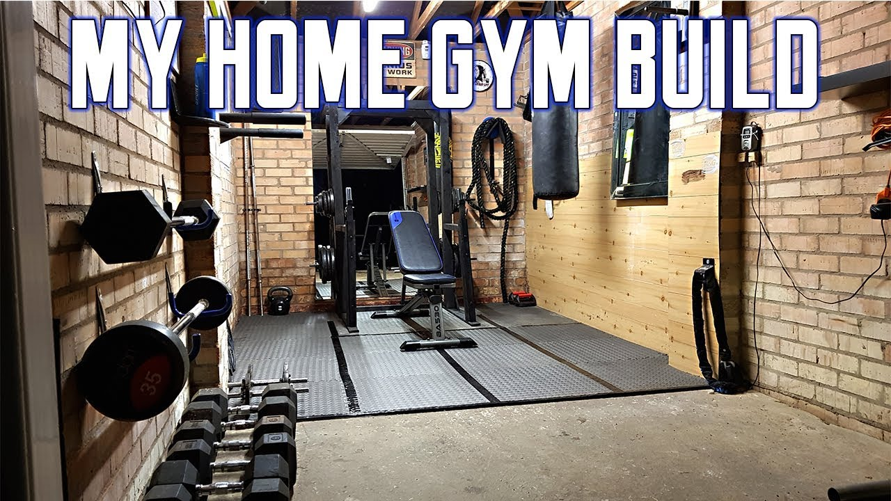 Budget home gym setup garage ideas