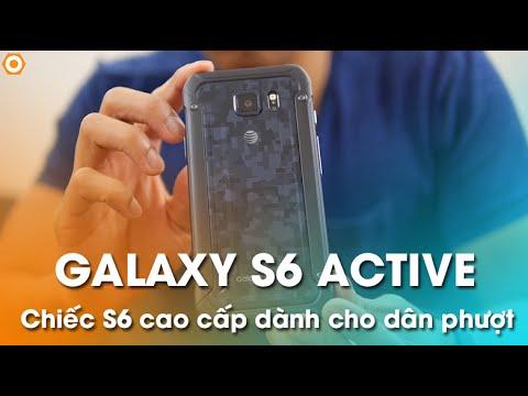 Samsung Galaxy S6 Active - Chiếc S6 cao cấp cho dân phượt