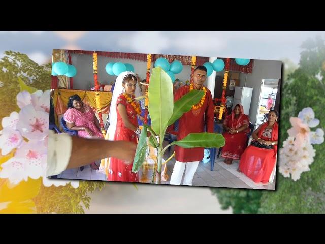 Hindoe bruiloft in Suriname