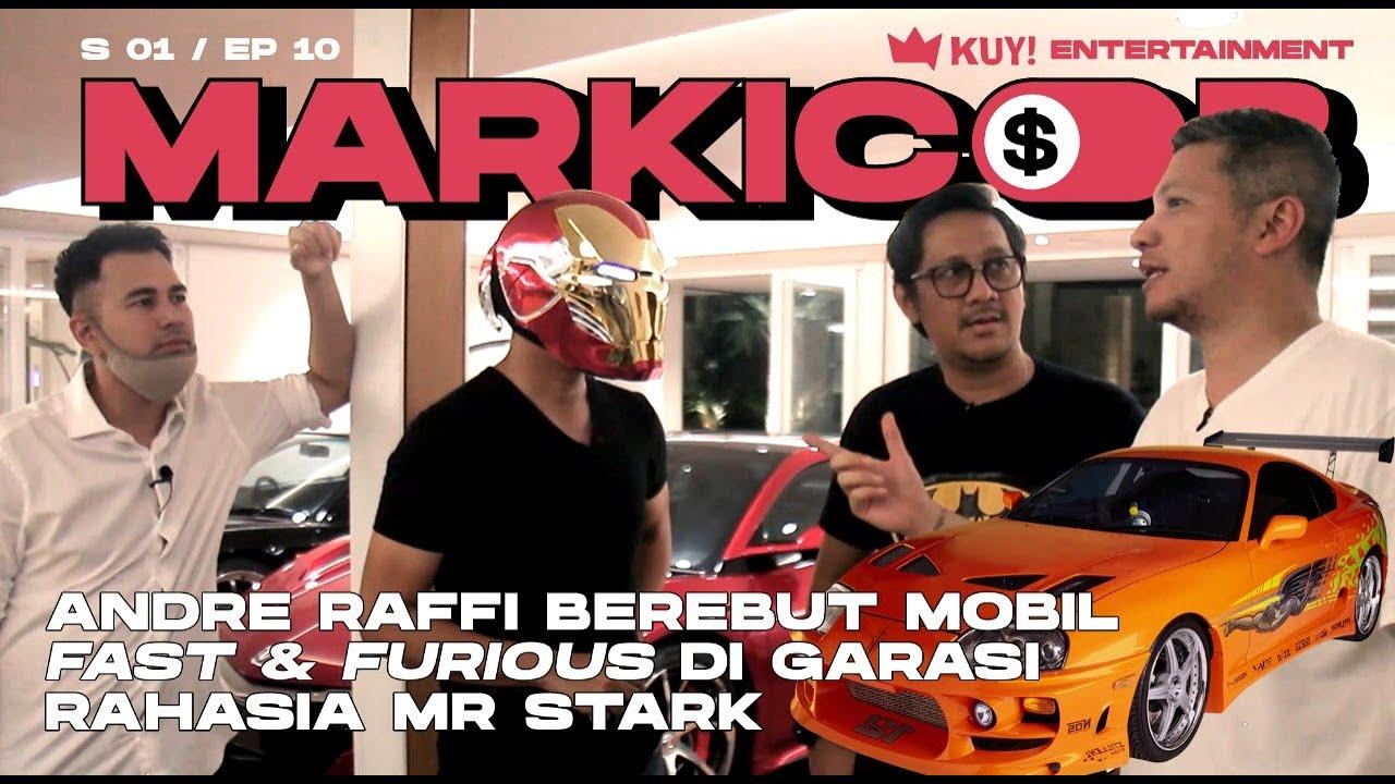 RAFFI & ANDRE PERAAANG! REBUTAN MOBIL DI GARASI RAHASIA MR STARK 100 M SUMBER GADING BROKER   PA