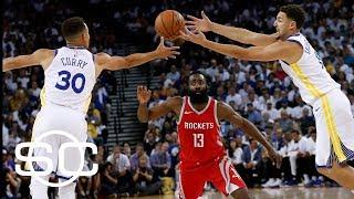 Jalen Rose says Rockets will not beat Warriors this season   SportsCenter   ESPN