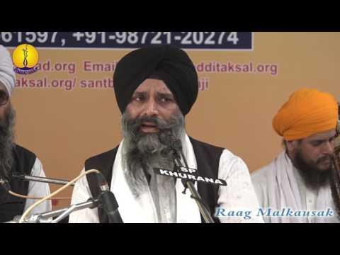 25th AGSS 2016: Raag Malkausak Dr. Alankar Singh Ji Patiala