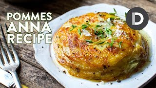 Crispy French Potato Cake Recipe!